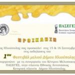 1ο Φεστιβάλ Μελιού Δήμου Ηλιούπολης